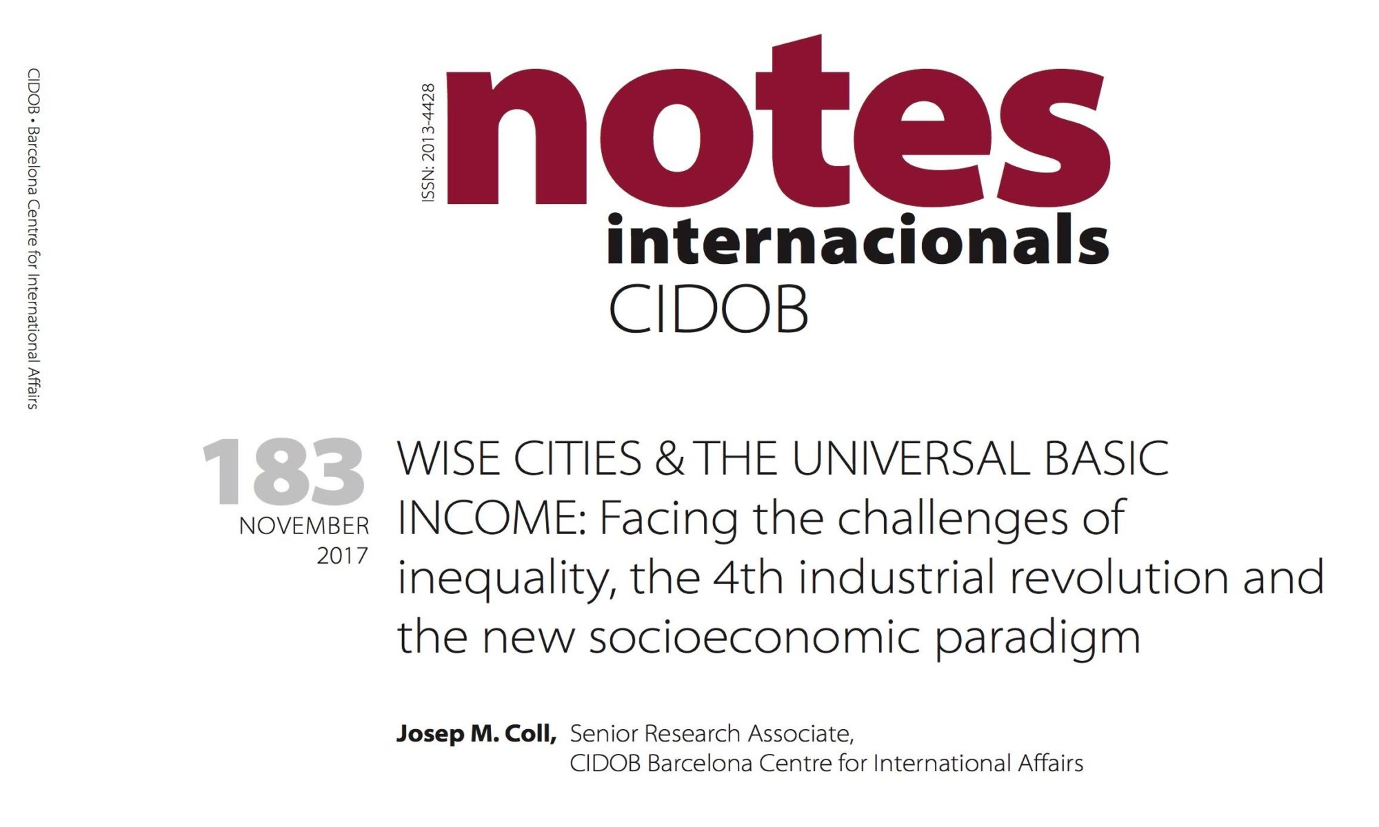 Notes Internationals 183