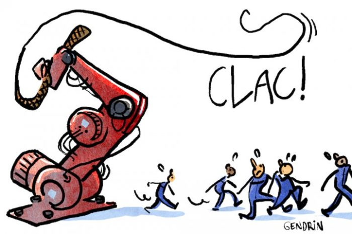 Les robots ne libèrent pas les humains du travail, au contraire